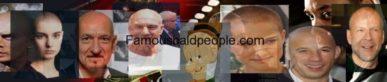 famous bald people logo