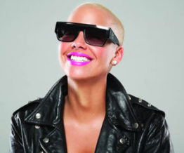 Amber Rose fashion model
