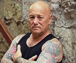 Angry Anderson Australian musician from Rose Tattoo