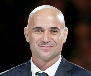 Andre Agassi famous tennis champion