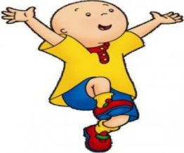 Caillou bald cartoon character