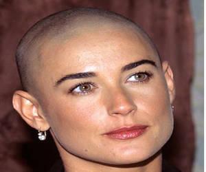 Demi Moore actress bald gi jane