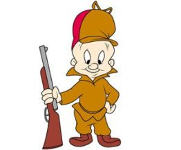 Elmer Fudd bald cartoon character looney tunes