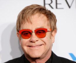 Elton John gay musician that wears glasses