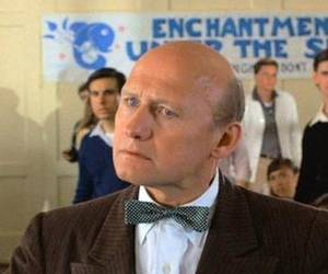 James Tolkan the bald principal from the back to the future hit movie