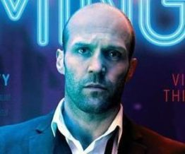 Jason Statham rocks the bald with stubble look