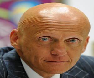 Pierluigi Collina bald Italian soccer referee