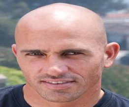 Kelly Slater bald surfing champion