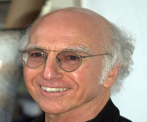 Larry David producer comedian suffers hair loss