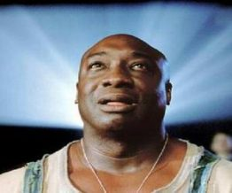 Michael Clarke Duncan BALD AFRICAN AMERICAN PRISONER OUT OF THE MEGA HIT MOVIE 'THE GREEN MILE'