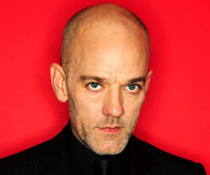Michael Stipe gay bald musician from REM