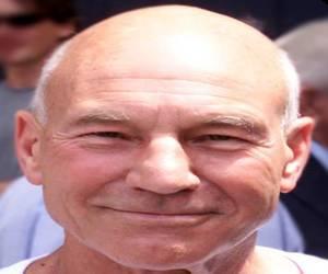 Patrick Stewart bald British actor from star trek