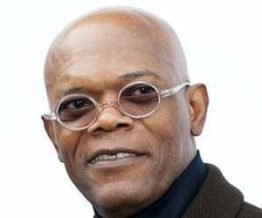 Samuel l Jackson bald Hollywood actor