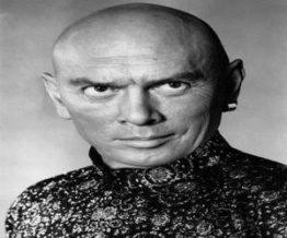 Yul Brynner was a famous bald actor