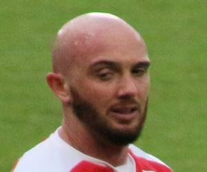 Stephen Ireland bald soccer player in the English premier league