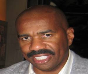 Steve Harvey - Bald African American Host