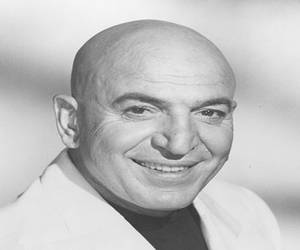 Telly Savalas kojak one of the most famous bald people