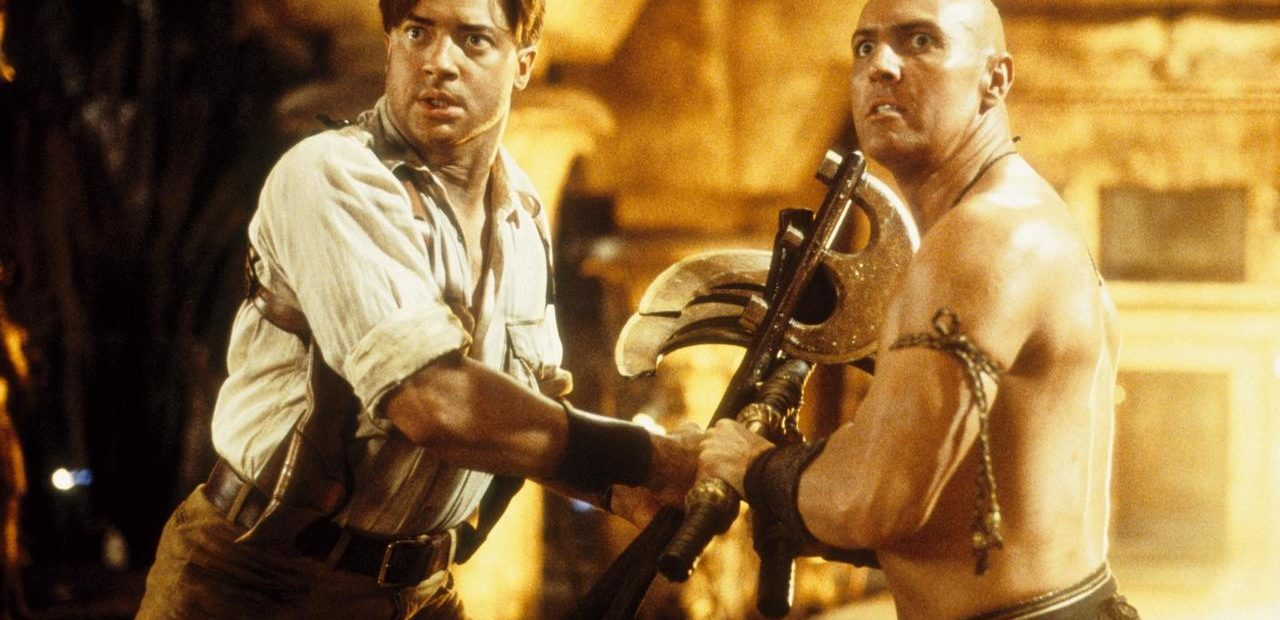 Arnold Vosloo bad guy from the mummy movies