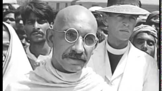 Ben Kingsley Scene from Gandhi movie