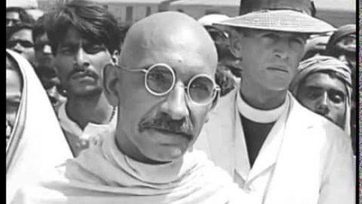 Ben Kingsley British Actor Gandhi movie screenshot