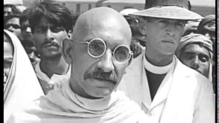 Ben Kingsley British Actor Gandhi movie screenshot
