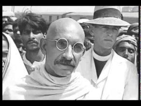 Ben Kingsley Scene from Gandhi movie