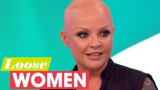 Gail Porter Appearing on Loose Women TV show
