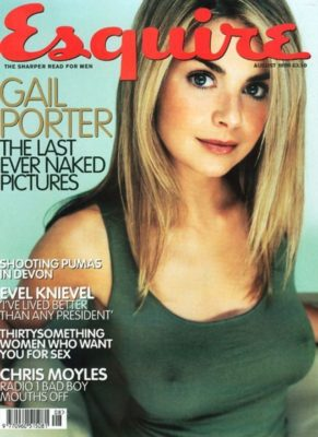 Gail Porter Esquire Cover