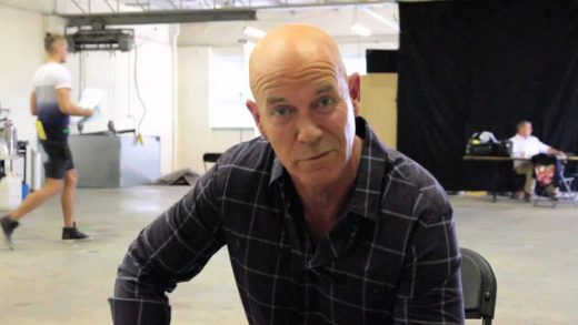 Gary Sweet veteran Aussie actor that has no hair