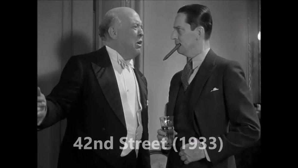 Guy Kibbee 42nd street movie scene screenshot