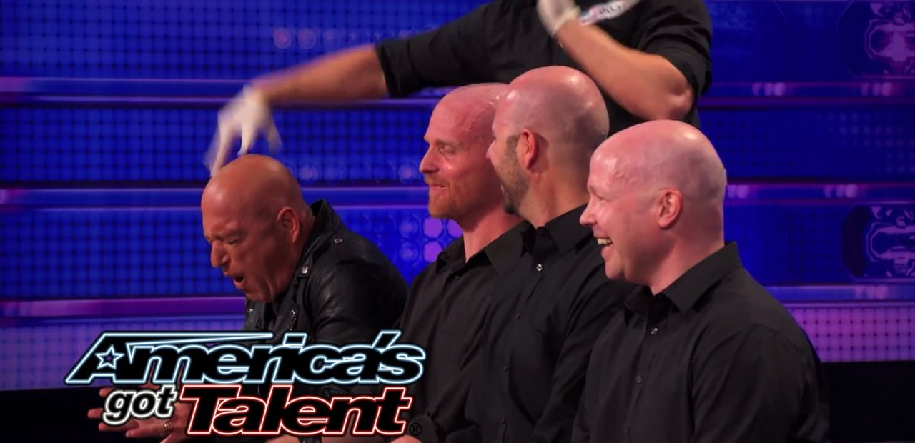 Howie Mandel Canadian Comedian Actor Host joins bald contestants