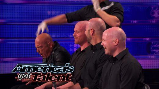 Howie Mandel Canadian Comedian Actor Host joins bald contestants
