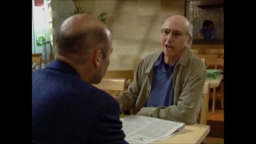 Larry David – Bald Comedian Actor Producer Writer