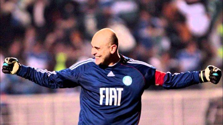 Marcos Roberto Silveira Reis Football Player wearing fiat sponsored football jersey