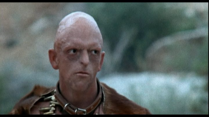Michael Berryman Bald Horror Movie Actor screenshot from movie