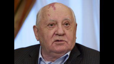 Mikhail Gorbachev birth mark on his head
