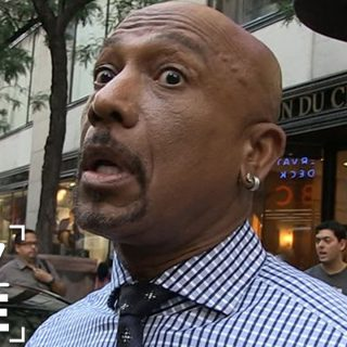 Montel Williams African American Black TV Host street interview by TMZ