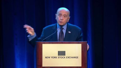 Richard Grasso at the NYSE