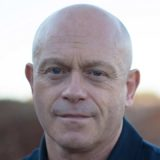 Ross Kemp British actor presenter with mpb male pattern baldness posing for photo