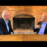 Paul Zane Pilzer Entrepreneur Economist Author interview at large wooden table