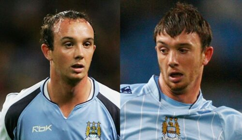 Stephen Ireland receding hairline and wig