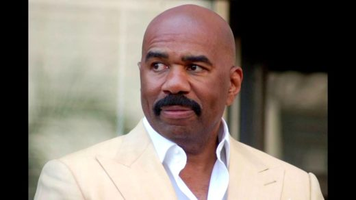 Steve Harvey with big moustache