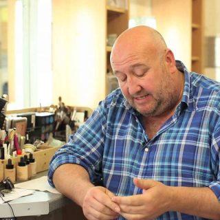 Steve Speirs big bald Welsh actor