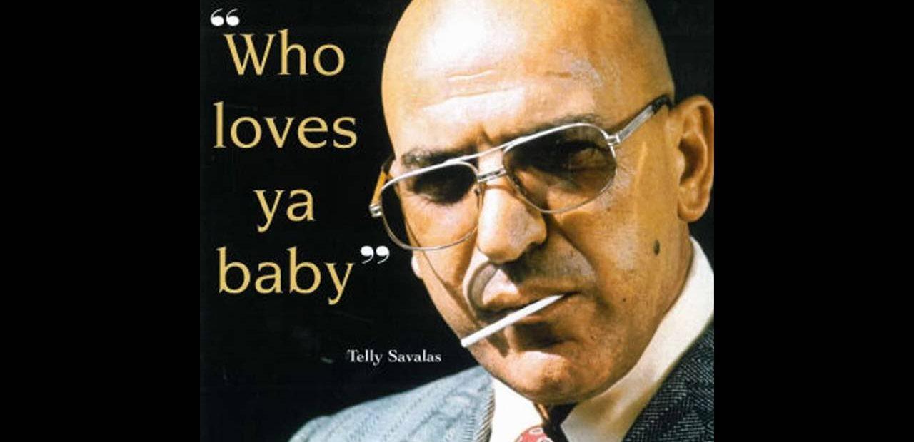Telly Savalas best known bald actor nickname Kojak