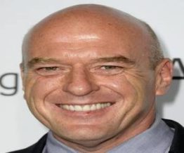 Dean Norris bald head smiling