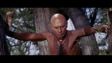 Yul Brynner famous bald actor